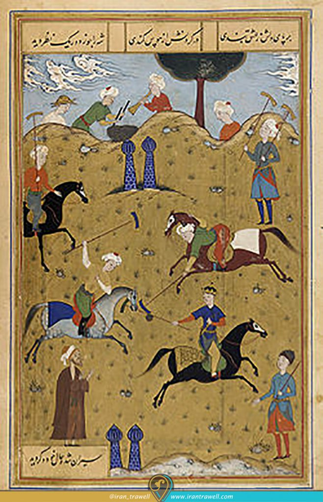 Polo in Iranian paintings